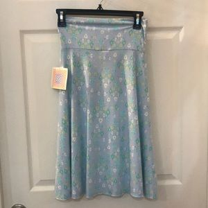 New with tags LuLaRoe XS Azure skirt